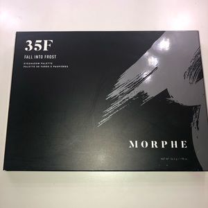 Morphe 35F Fall Into Frost Eyeshadow Pallet